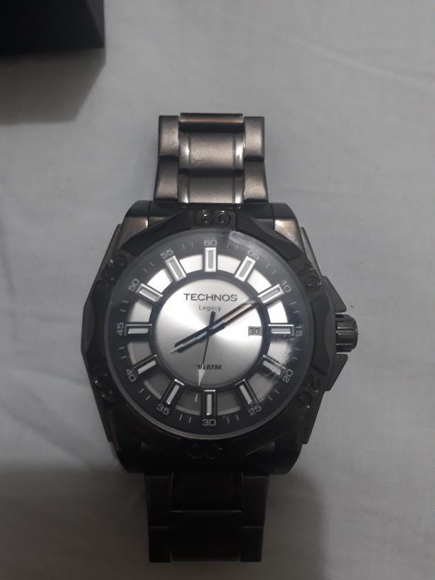 c9a9e9def4c4b relógio masculino technos analógico clássico 2115kqo 1k. Carregando zoom.