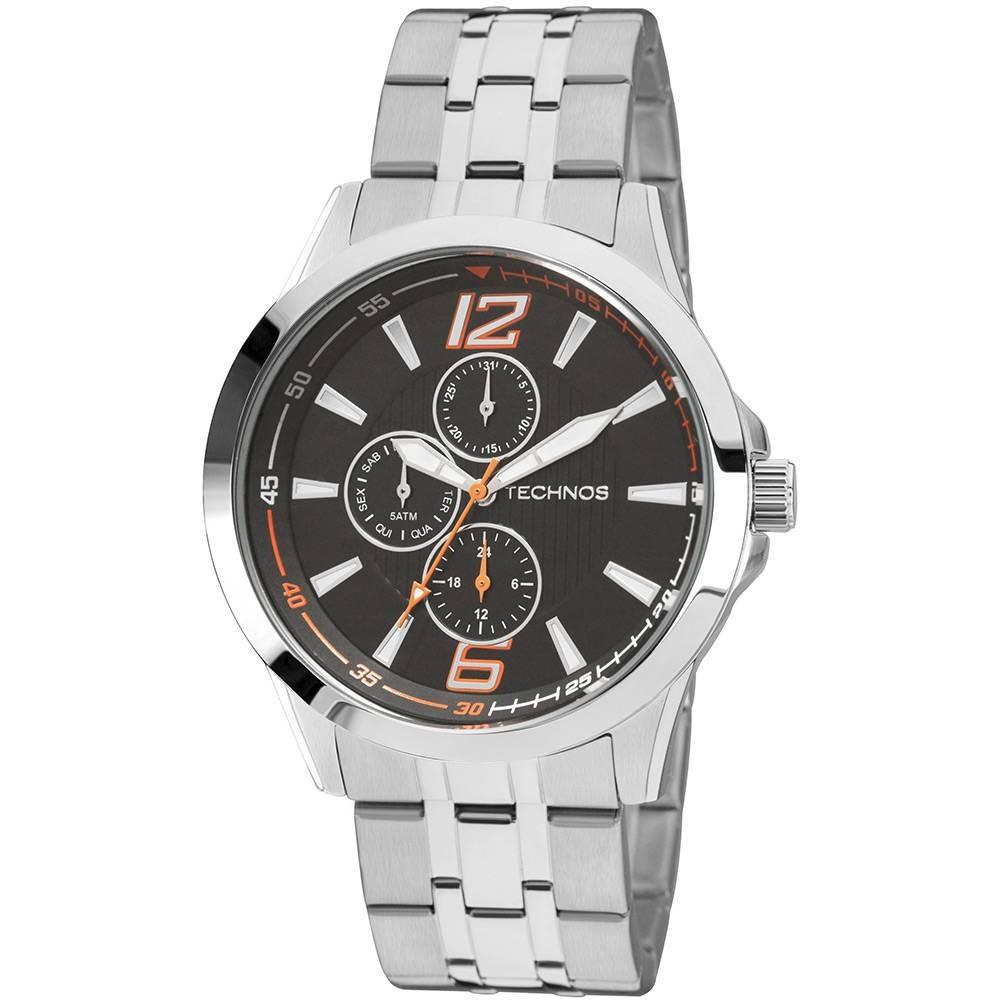 d5c792db05310 relógio masculino technos analógico esportivo 6p27dp 1l. Carregando zoom.