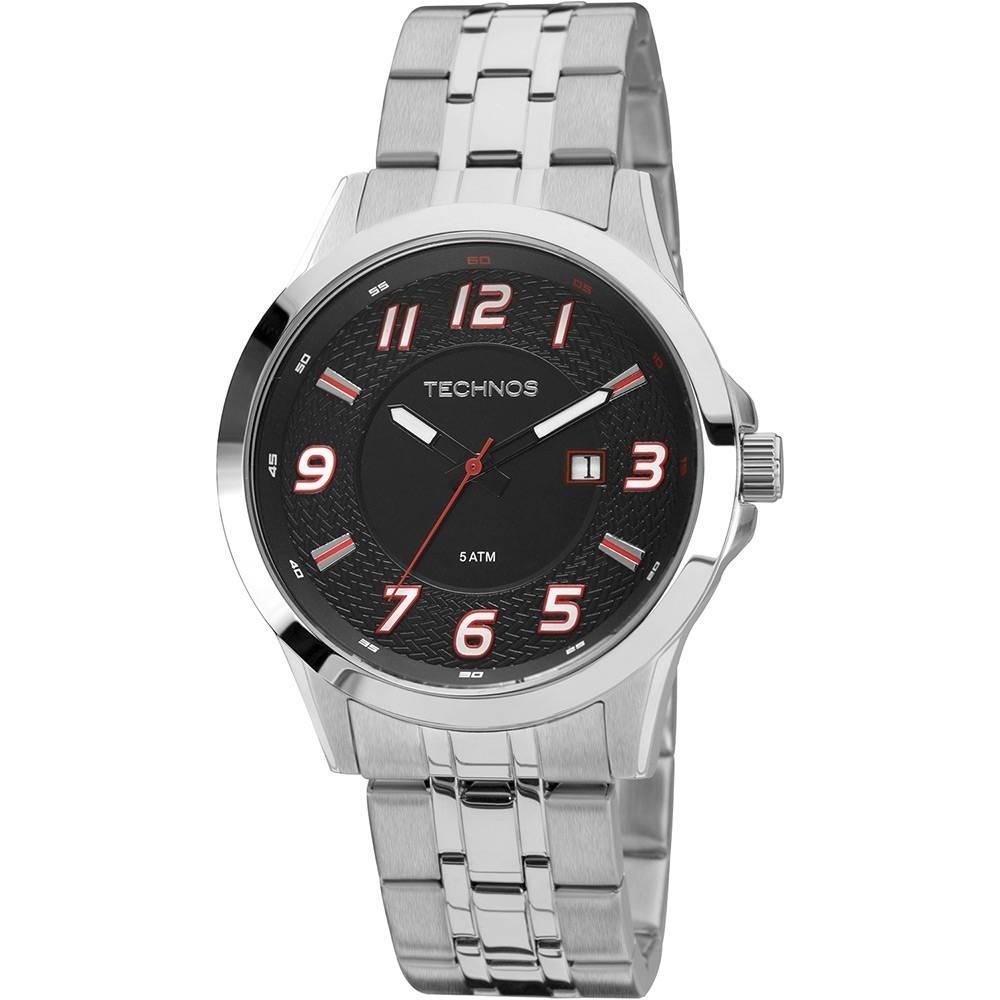 relógio masculino technos analógico performance 2115kpw 1r. Carregando zoom. 3cf64d1602