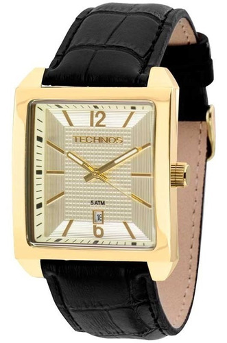 relógio masculino technos clássico 2115kqn/k0d + pen drive
