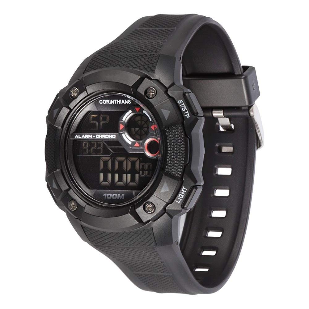 78b7623fe8091 relógio masculino technos corinthians digital cor1360a 8p. Carregando zoom.