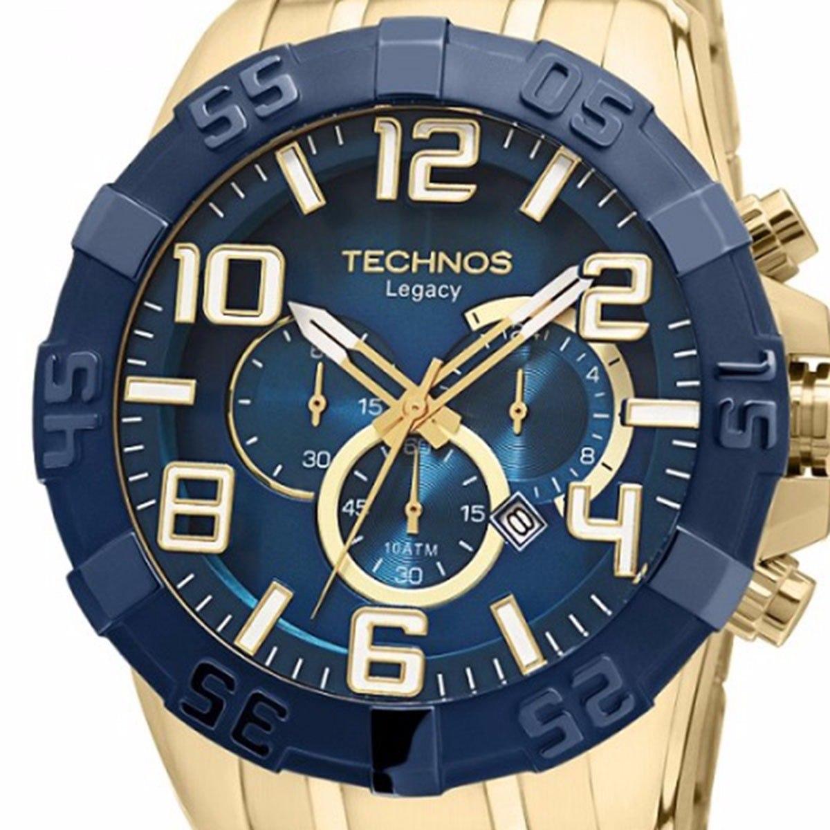 Relógio Masculino Technos Legacy - Os20iq 4a + Nfe - R  699,00 em ... 58ce095d51