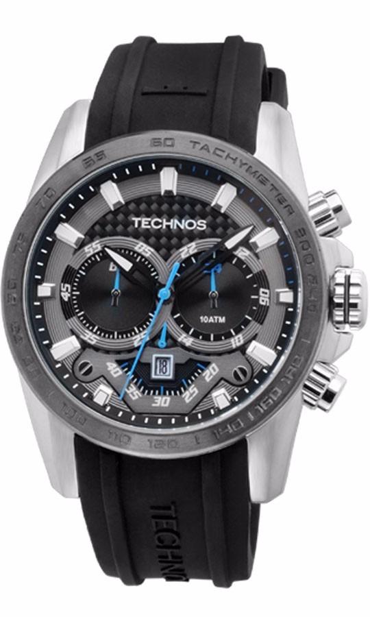 044c0f4ac3315 Relógio Masculino Technos Os20ek 8p Ts Carbon Esportivo - R  419