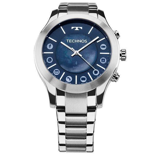 67b04539ab2d4 Relógio Masculino Technos Smartwatch 753af 1a 42mm Aço Inox - R  272 ...