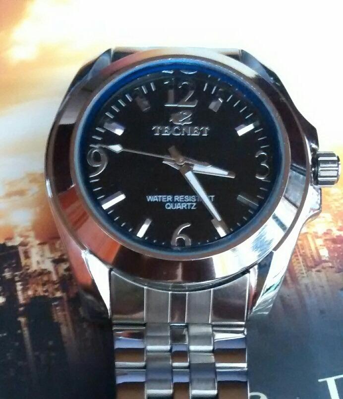 d14c73b39 relógio masculino tecnet resistente á agua ótima qualidade. Carregando zoom.