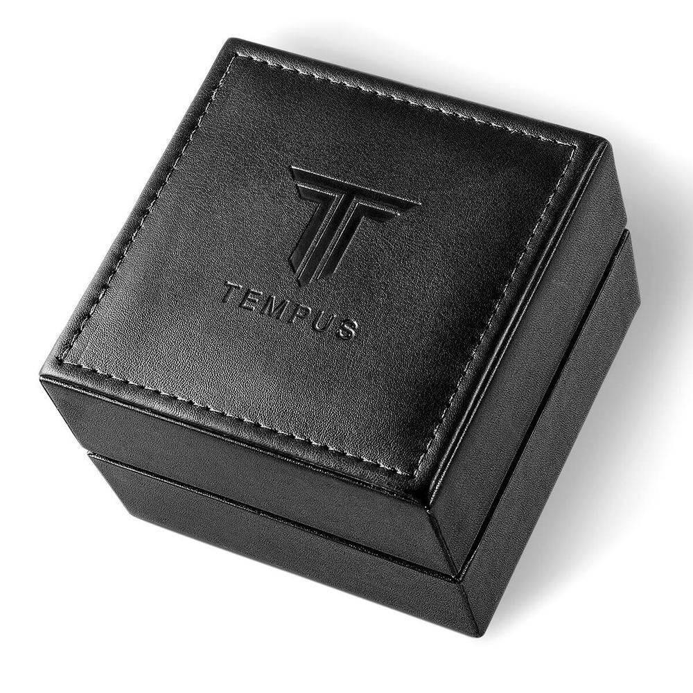 e48fabfec97 relógio masculino tempus elite zw20136p gold black. Carregando zoom.