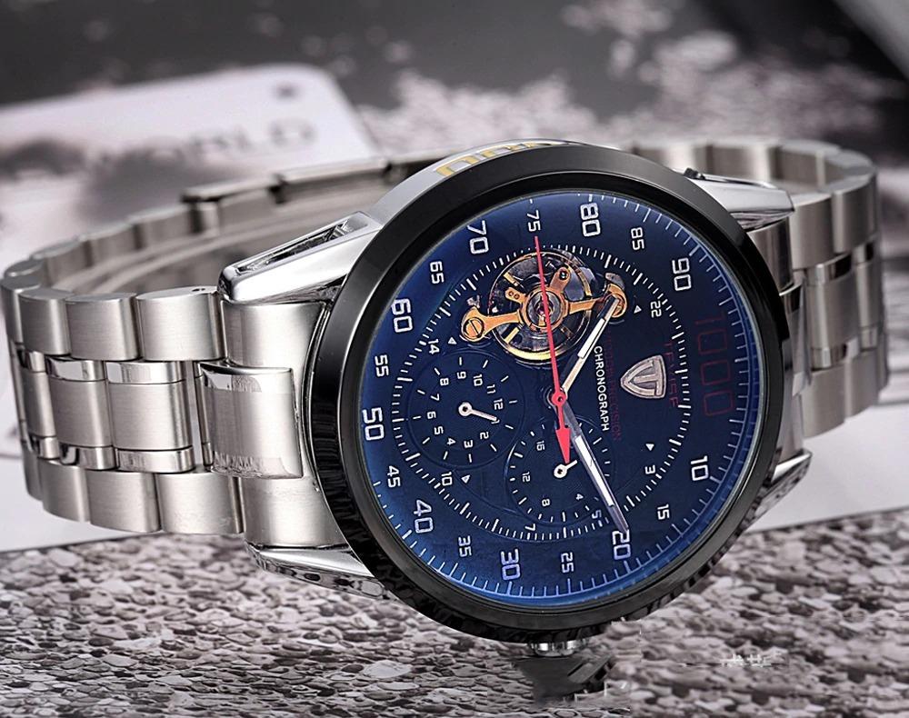 d663afbf55d relógio masculino tevise 1000 automático - pronta entrega. Carregando zoom.