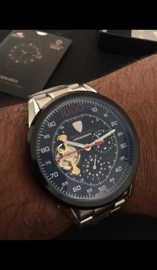 1f0d8876c01 relógio masculino tevise série 1000 mecânico automático. Carregando zoom.