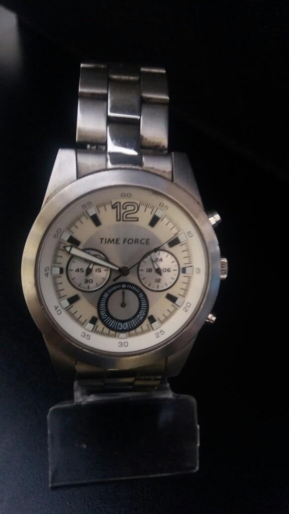 4a667cd150e relógio masculino time force italiano. Carregando zoom.