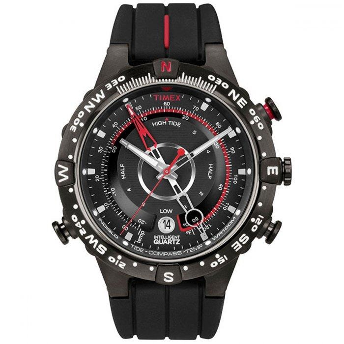 6423e6f879f9d Relógio Masculino Timex Ironman Iq T2n720ww tn 46mm Silic. - R  578 ...