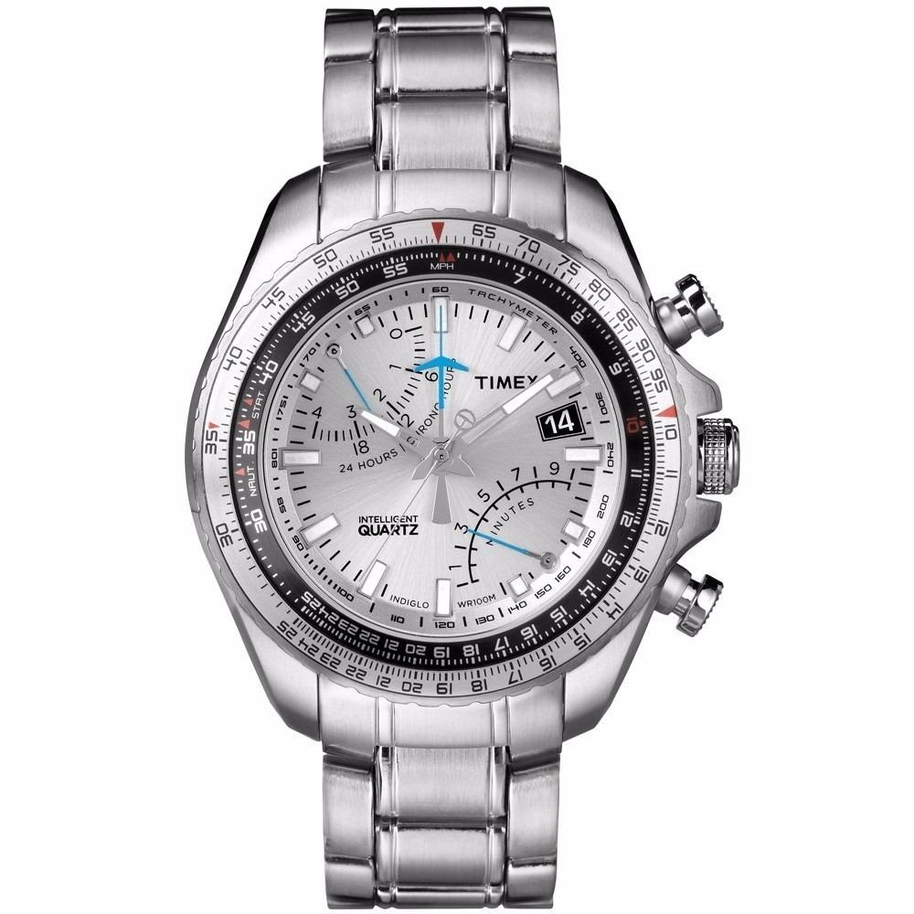 96ee338774a Relógio Masculino Timex Intelligent Quartz - T2p104 - R  549