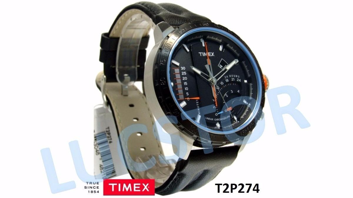 5887b60f699 relógio masculino timex intelligent quartz t2p274pl ti. Carregando zoom.
