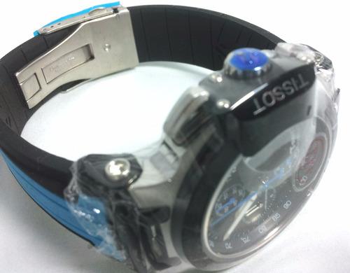 034bba8796b22 Relógio Masculino Azul Tissot Azul Preto Funcional Safira - R  699 ...