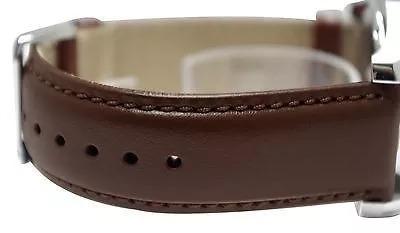 relogio masculino tommy hilfiger pulseira em couro marrom