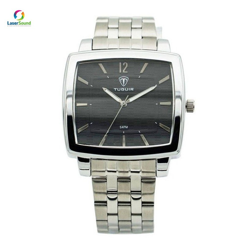 relógio masculino tuguir 5436g prata c/ garantia  nf
