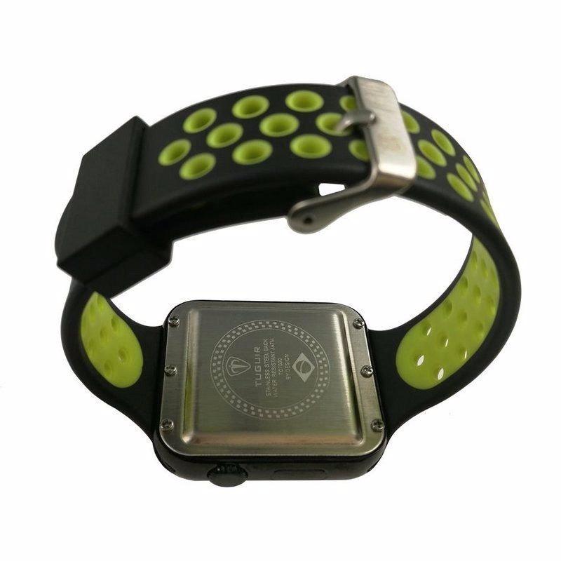 f0c5349a561 relógio masculino tuguir digital tg7009 preto e verde. Carregando zoom.