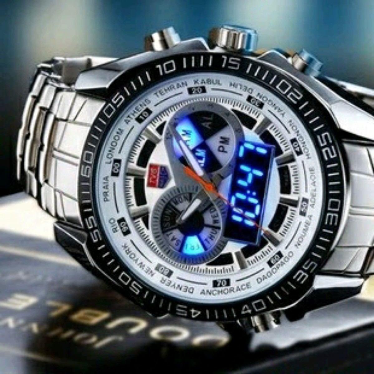 2a377e5afba relógio masculino tvg seals led frete grátis brasil lindo. Carregando zoom.