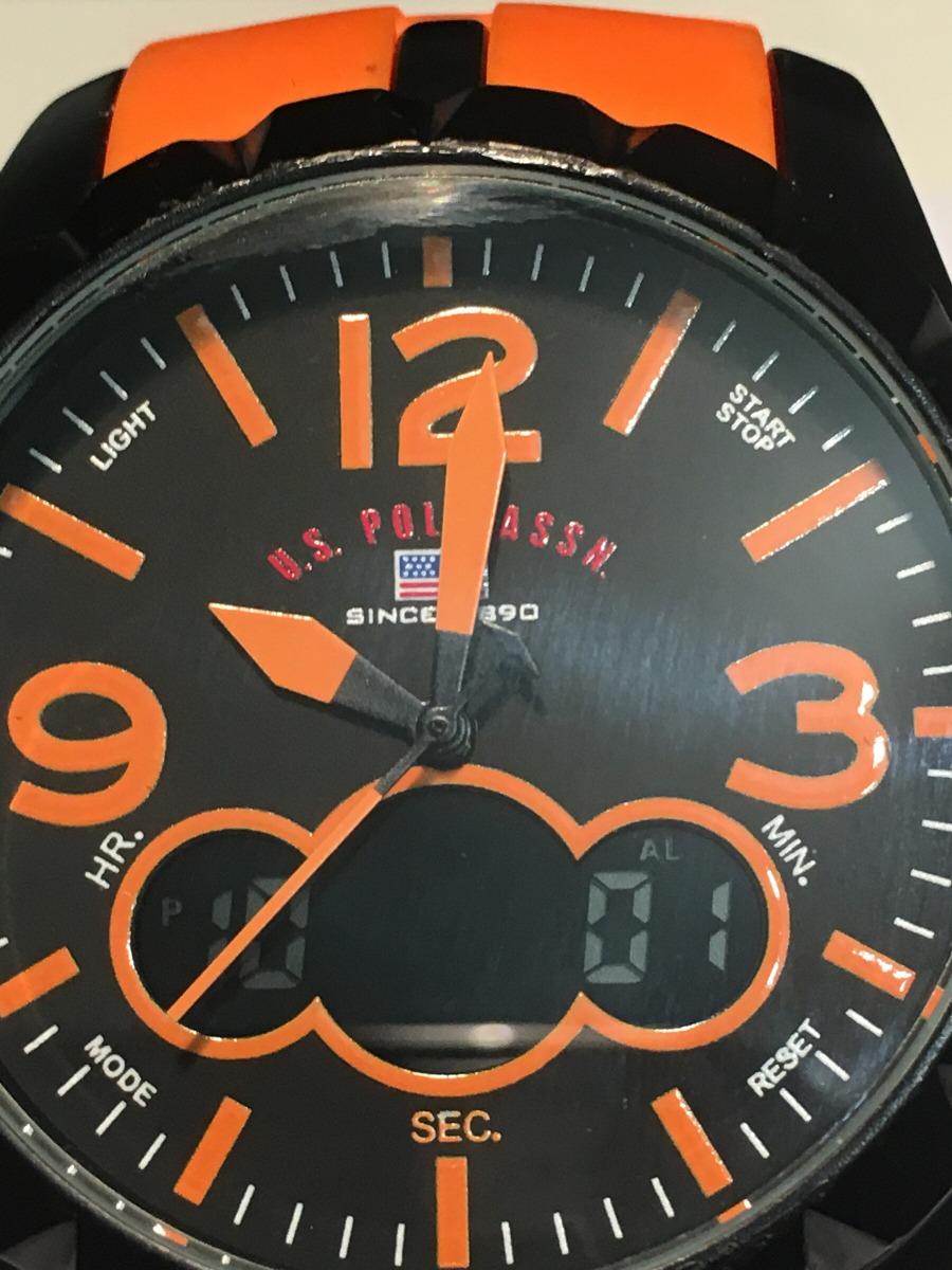 280c2b24e723b relógio masculino u.s. polo assn modelo us9057. Carregando zoom.