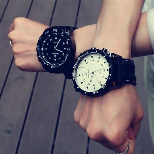 relógio masculino v6 grande liquidação