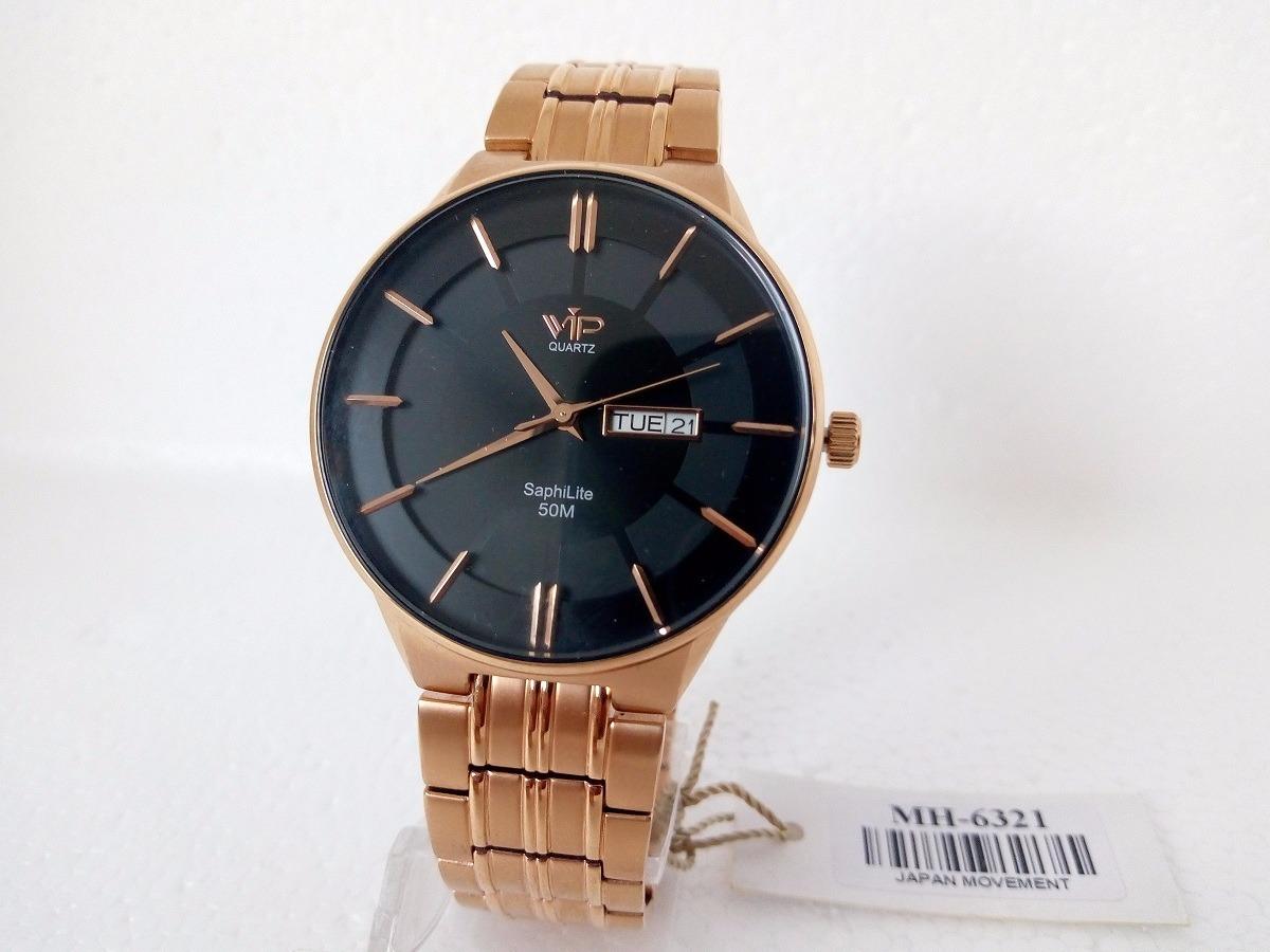 3f2a5022283 relógio masculino vip quartz social slim luxo original. Carregando zoom.