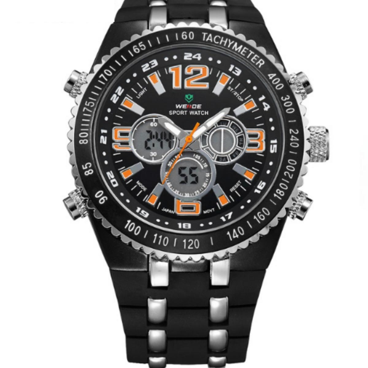 a036b1879a9 relógio masculino weide esportivo pulso original na caixa. Carregando zoom.
