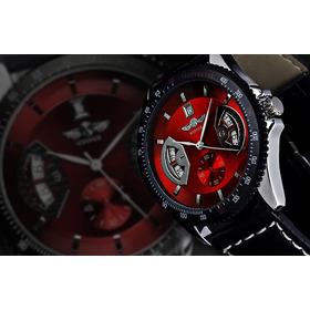 Relógio Masculino Winner Dial Redondo