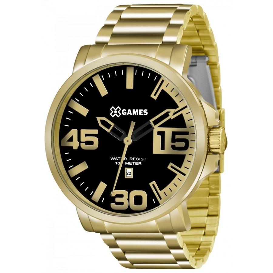 e6fdaeb4f2f relógio masculino x-games analógico xmgs1018p2kx - dourado. Carregando zoom.