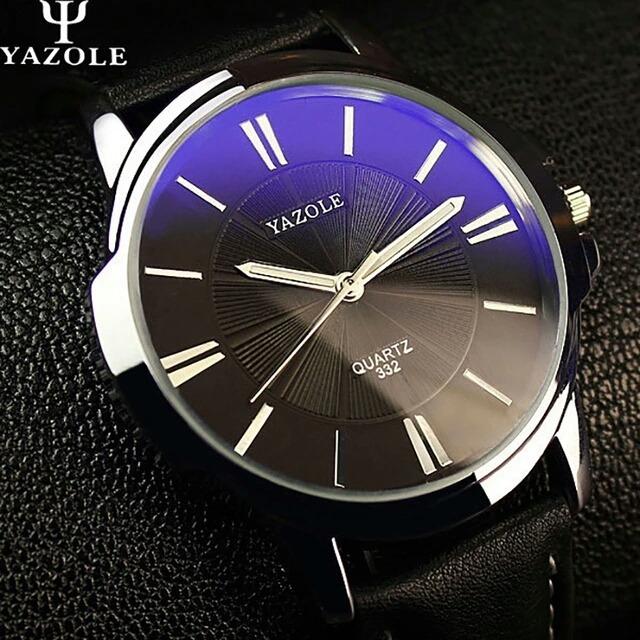 d9f5d5f2aab Relógio Masculino Yazole 332 Luxo Original Prova Agua - R  46