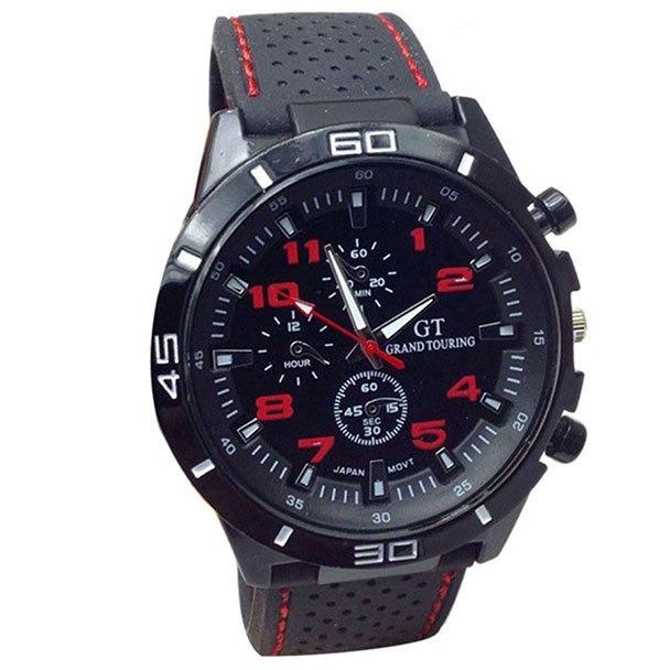 3157f444715 Relógio Masculino Yazole Em Couro Relógio Barato Masculino - R  32 ...