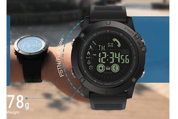 6ae0f84ca40 Relógio Masculino Zeblaze Vibe 3 Seu Secretário Pessoal - R  219