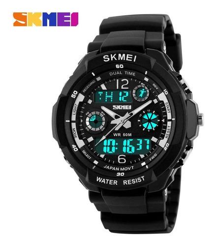 relógio masulino skmei s-shock original modelo 0931