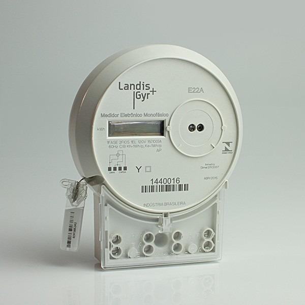 fd354f5b8fb Relógio Medidor De Luz Energia Monofásico Digital E22a - R  130
