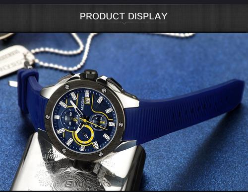 relógio megir j2261 ponteiros funcionais