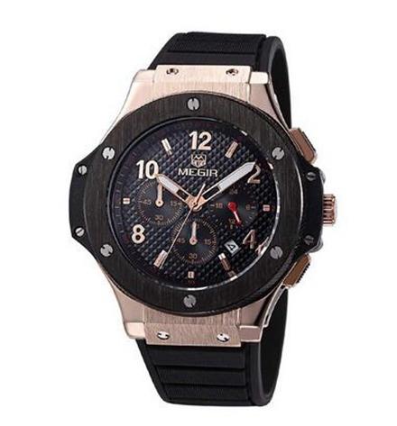 c3032356c48 Relógio Megir Masculino Militar Original - R  229