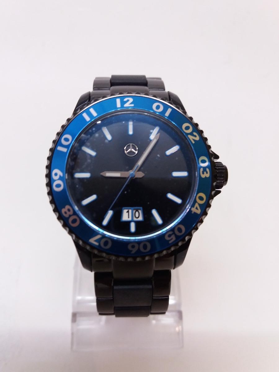 91f43e98c31 Relógio Mercedes Benz Novo Na Embalagem E Manual - R  599