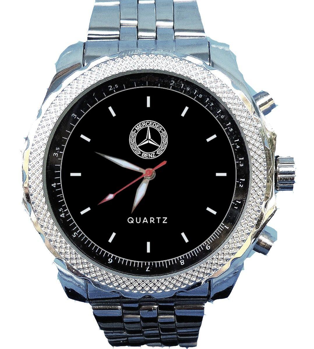 d77894cd7e9 Relógio Mercedes Benz Personalizado Caixa Breitling - R  199
