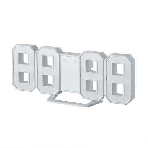 relogio mesa parede digital em led multifunção escritorio