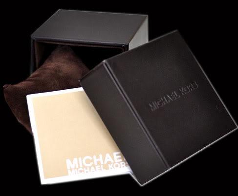 relógio michael kors mk5128 rose lindo com caixa e manual. Carregando  zoom... relógio michael kors 3f075605ac