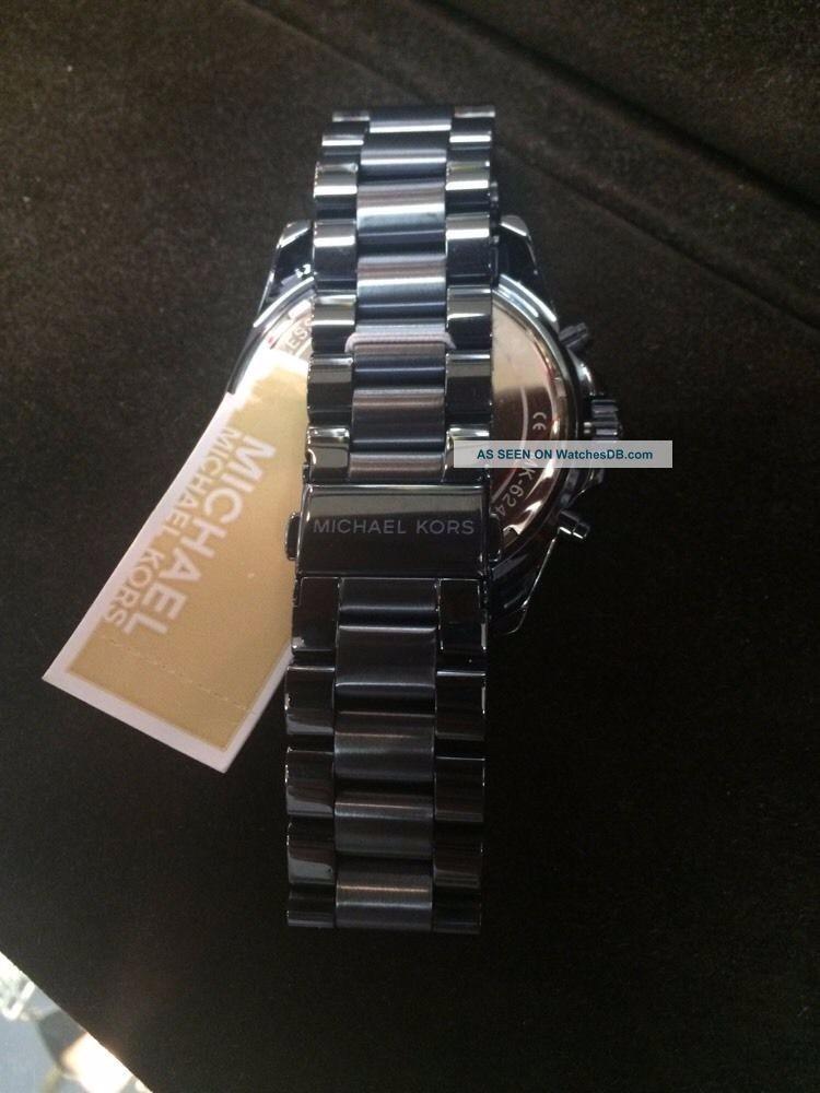 2bae1cb16 ... mk6248 - original mega oferta azul · relógio michael kors. Carregando  zoom.