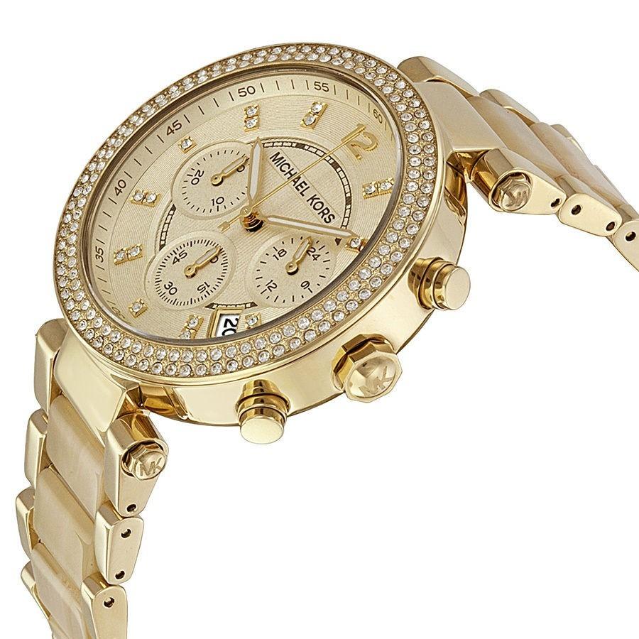 e9d16ff4ba5 Relógio Michael Kors Mk5632 Dourado Madrepérola Em Até 12x. - R  449 ...
