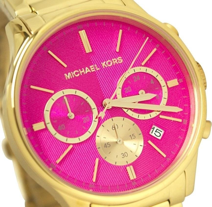 23c83adda Relogio Michael Kors Mk5909 Rosa Original Garantia Mk Pink - R$ 318 ...