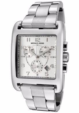 569fb37c2f0 Relógio Michael Kors Mk5331 Prata Quadrado C estojo - R  429