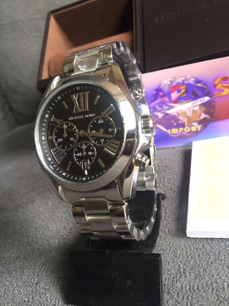 Relogio Michael Kors Mk5705 Prata 100% Original 12x S  Juros - R ... 04e89f5699