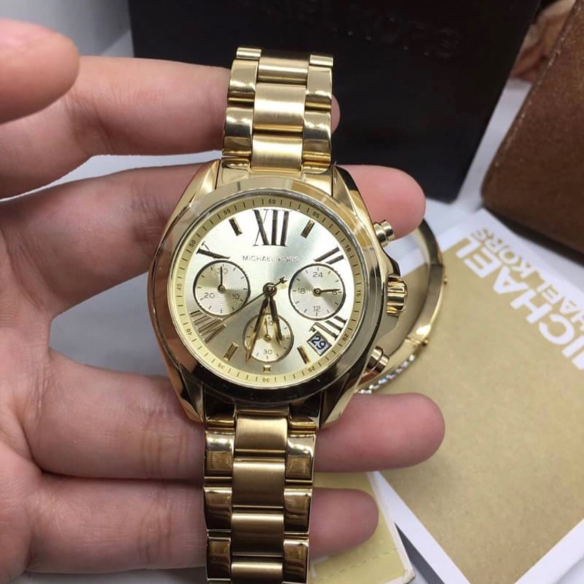 e229727b46666 Relógio Michael Kors Mk5798 - R  449,00 em Mercado Livre