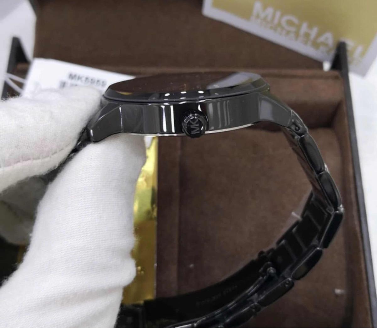 a4cb95fc402 Relógio Michael Kors Mk5959 Novo Original - R  1.538