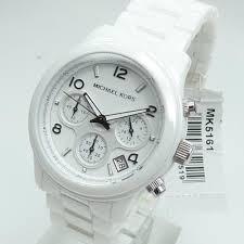 9253e64ea Relogio Michael Kors Mk5161 Branco Original Frete Gratis - R$ 479,00 ...