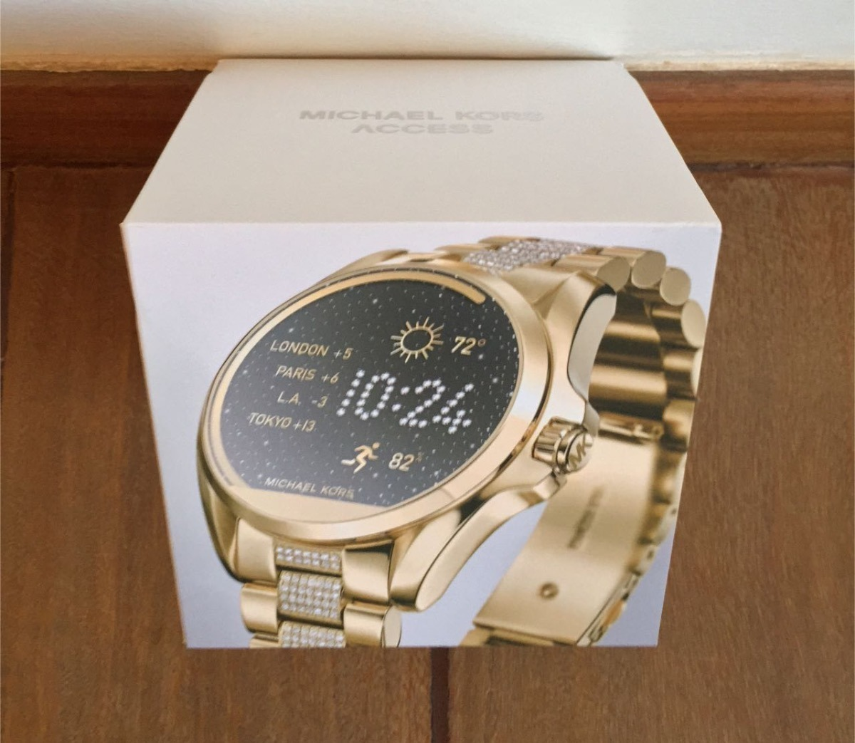 a220b26641938 Relogio Michael Kors Mkt5002 Access Smartwatch Swarovski - R  1.490 ...