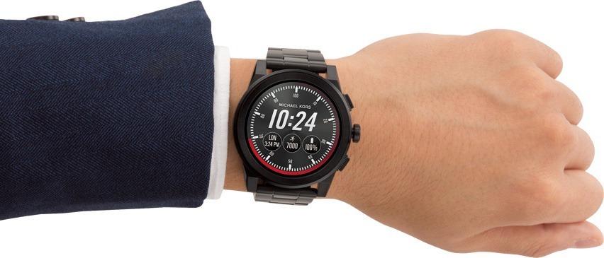 relógio michael kors access grayson smartwatch mkt5029 novo. Carregando  zoom. 3bc4df55b7