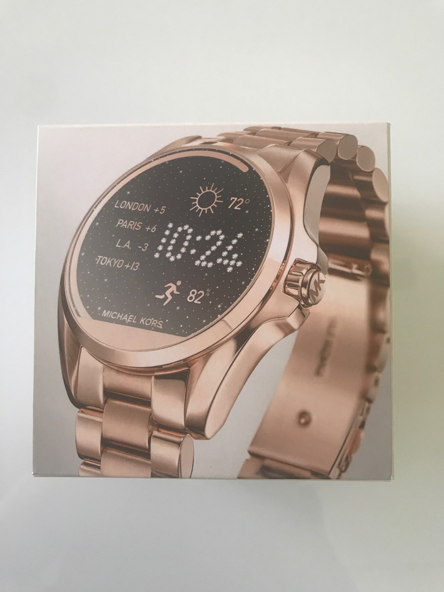 829ed8cf10abc Relógio Michael Kors Access Rose Mkt5004 Novo Na Caixa - R  1.800,00 ...