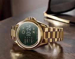 3c1dc042f17be Relógio Michael Kors Access Smart Watch Mkt 5001 Gold + Nota - R ...